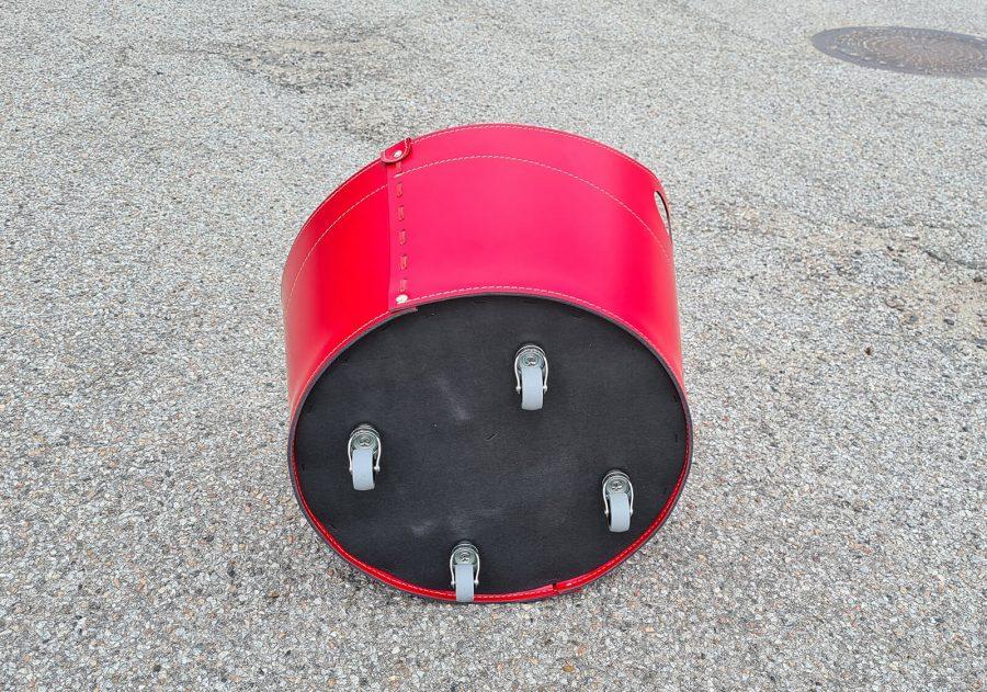 brændekurve med hjul